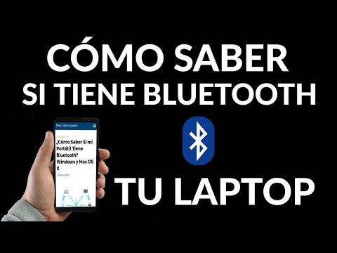 Cómo Saber si tu Portátil Tiene Bluetooth