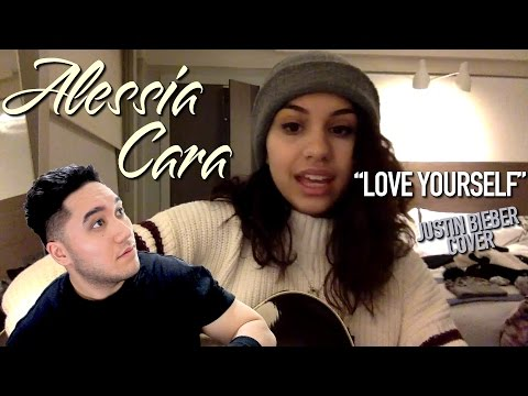 Alessia Cara - Love Yourself (Justin Bieber Cover) REACTION!!!