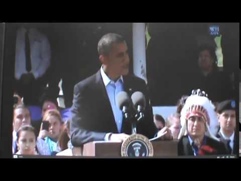 Barack Obama at Standing Rock Tribal Nation