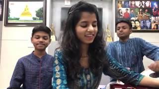Chandi jaisa rang hai tera (ghazal) Maithili Thakur, Rishav Thakur and Ayachi Thakur