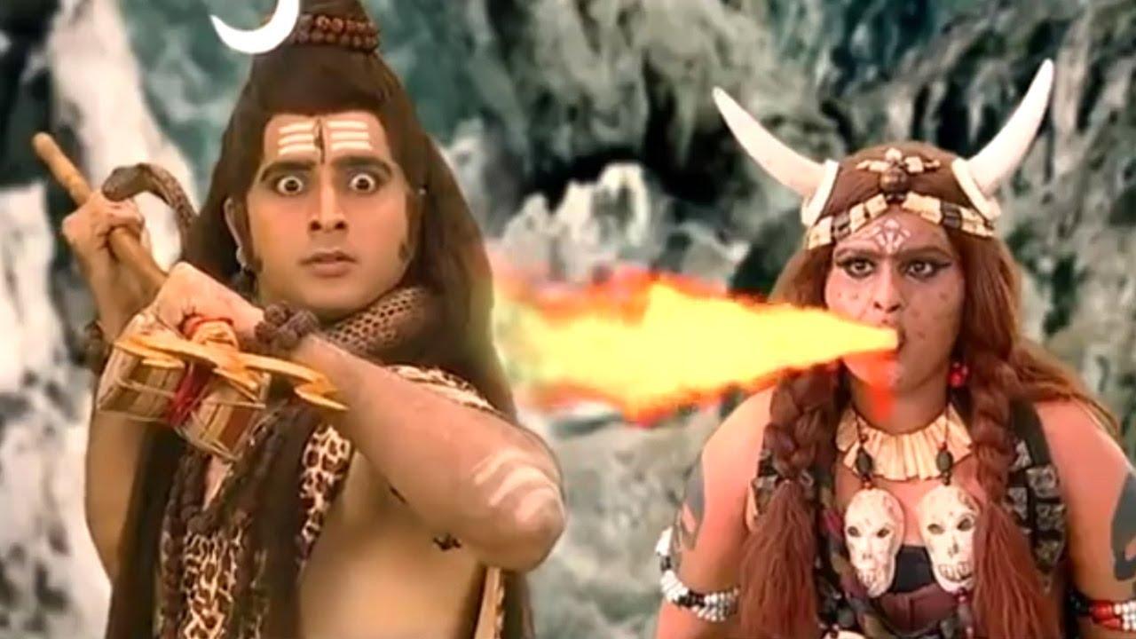 तड़का को युद्ध की चुनौती - ताड़का और मारुति आमने सामने - Bhakti Video - Jai Bajrangbali