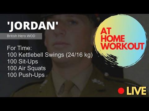 'Jordan' WOD WODwell // Ultimate At Home Workout