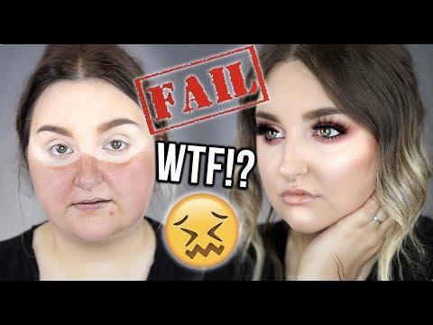 MAJOR FAIL! | FULL FACE OF FIRST IMPRESSIONS .. WTF!?! | RawBeautyKristi