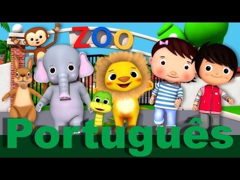 Canção do Zoo | Canções infantis | LittleBabyBum