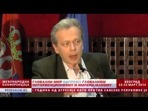 VLADIMIR KRŠLJANIN (SNF, SERBIA) - (Global Peace vs. Global Interventionism and Imperialism)