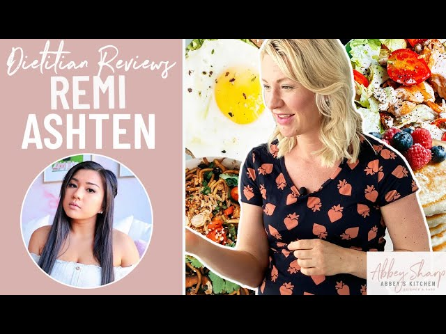 Dietitian Reviews REMI ASHTEN What I Eat In A Day