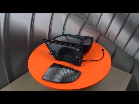 Зеркало заднего вида/Зеркальный элемент на Фиат Дукато(Fiat DUCATO), Боксер(BOXER) и Джампер(JUMPER)