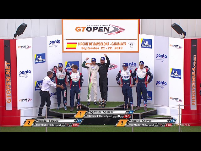 International GT Open 2019 ROUND 6 SPAIN - Barcelona Race 1 ENG