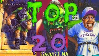 My Top 20 Goosebumps Monsters