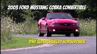 2003 Ford Mustang Cobra Convertible - Video Test Drive with Chris Moran