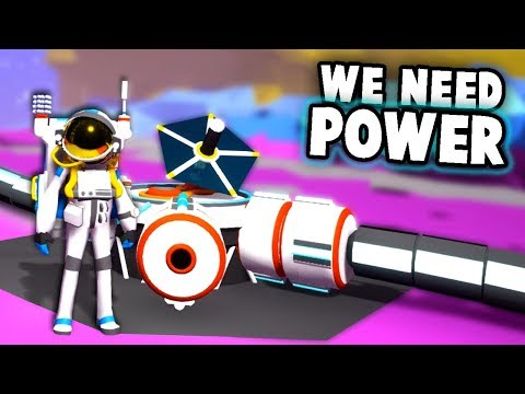 I NEED unlimited POWER!  The Ultimate SPACE BASE (Astroneer  Multiplayer Gameplay Ep 2)