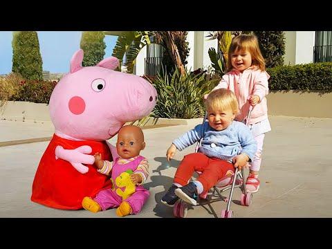 Бьянка и Карл. Бьянка стала Как мамой! Видео для детей с Беби Бон и малышами