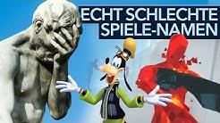 Spiele mit bescheuerten Namen - Top 50 schlechteste Videospieltitel