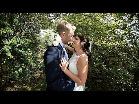 Mitchell & Samantha's wedding video highlights | Dodford Manor in Northamptonshire