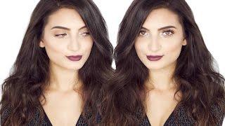 glowy fall autumn inspired makeup tutorial