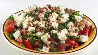 Вкусный  салат из баклажанов / Легкий и без майонеза