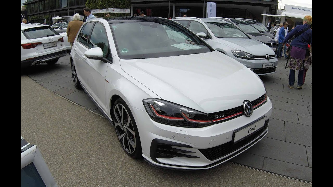vw golf 7 gti facelift new model 2017 walkaround. Black Bedroom Furniture Sets. Home Design Ideas