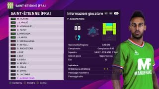 eFootball PES 2020 (PS4) - SAINT-ÉTIENNE CLASSIC ALL TIME XI (69/100)