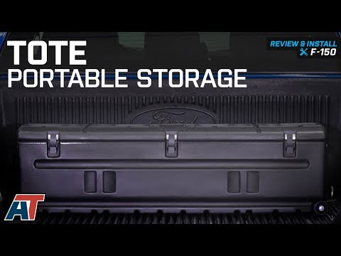 1997-2018 F150 Tote - Portable Storage Review & Install