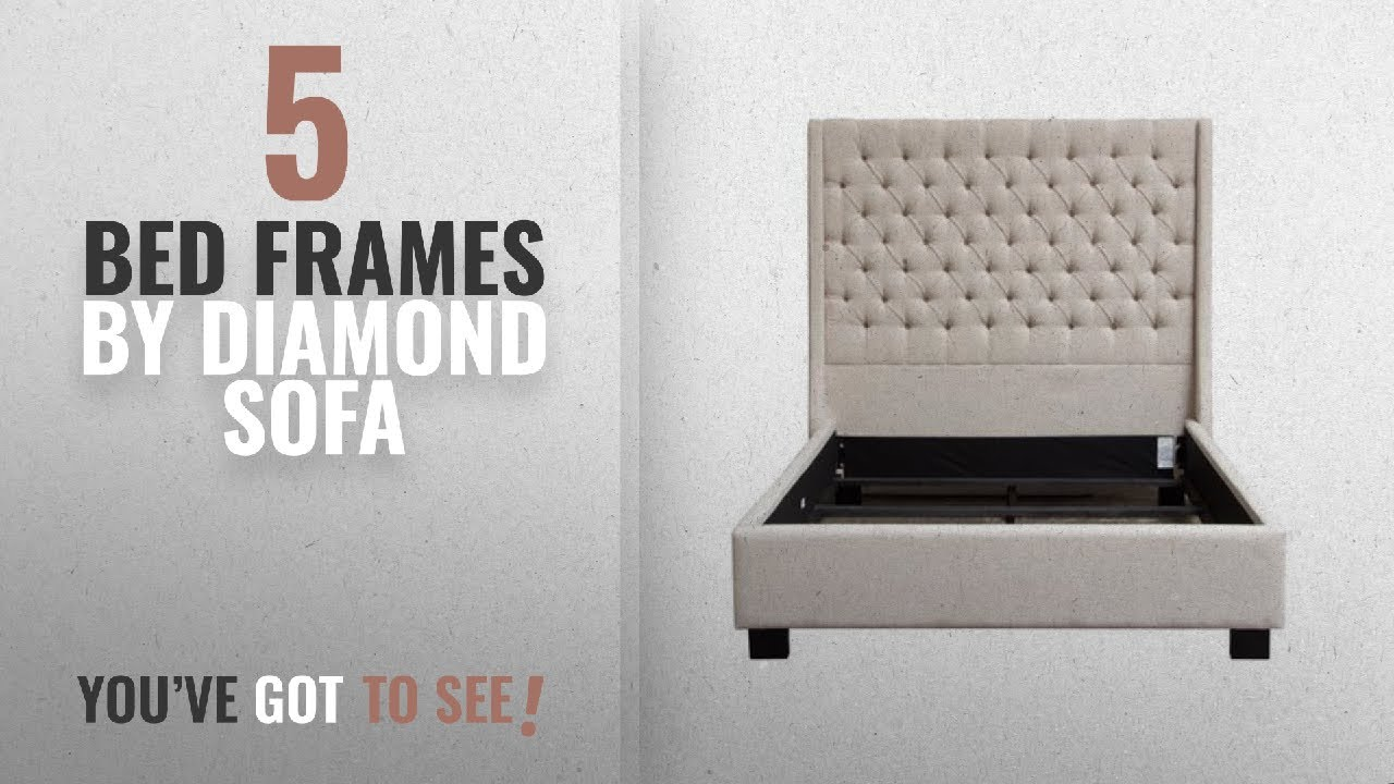 Top 10 Diamond Sofa Bed Frames 2018 Park Ave Queen Tufted Wing