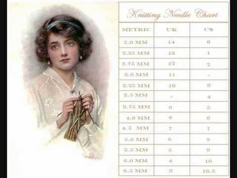 Online Knitting Needle Conversion Chart