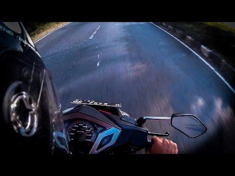 HOT!!! Honda Vario 125 (150cc Bore Up) Top Speed Test!!!