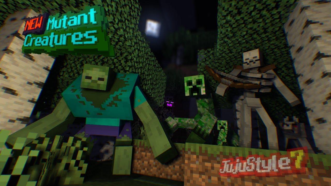 NEW Mutant Creatures Add-on (10.106+)  Minecraft PE Mods & Addons
