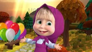 Masha and The Bear Nyanyi Lagu Balonku ada lima