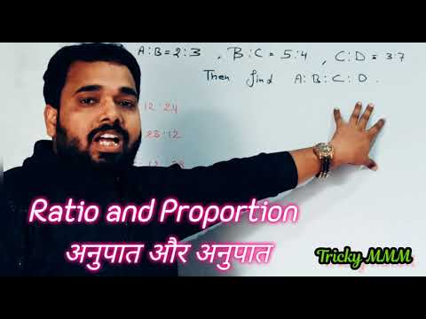 Ratio & Proportion (अनुपात और समानुपात) - Math Tricks | Part 1