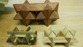 Making My Double Star Burr Puzzle: Pt. 2 Of 2: Woodworking Project