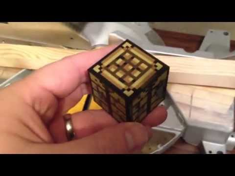 Make your own Minecraft wood blocks How to