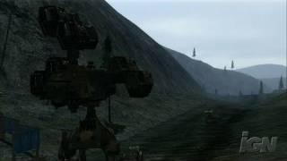 Chromehounds Xbox 360 Gameplay - Truck Hunting