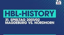 HBL-History: Magdeburg vs. Nordhorn (2001/02)