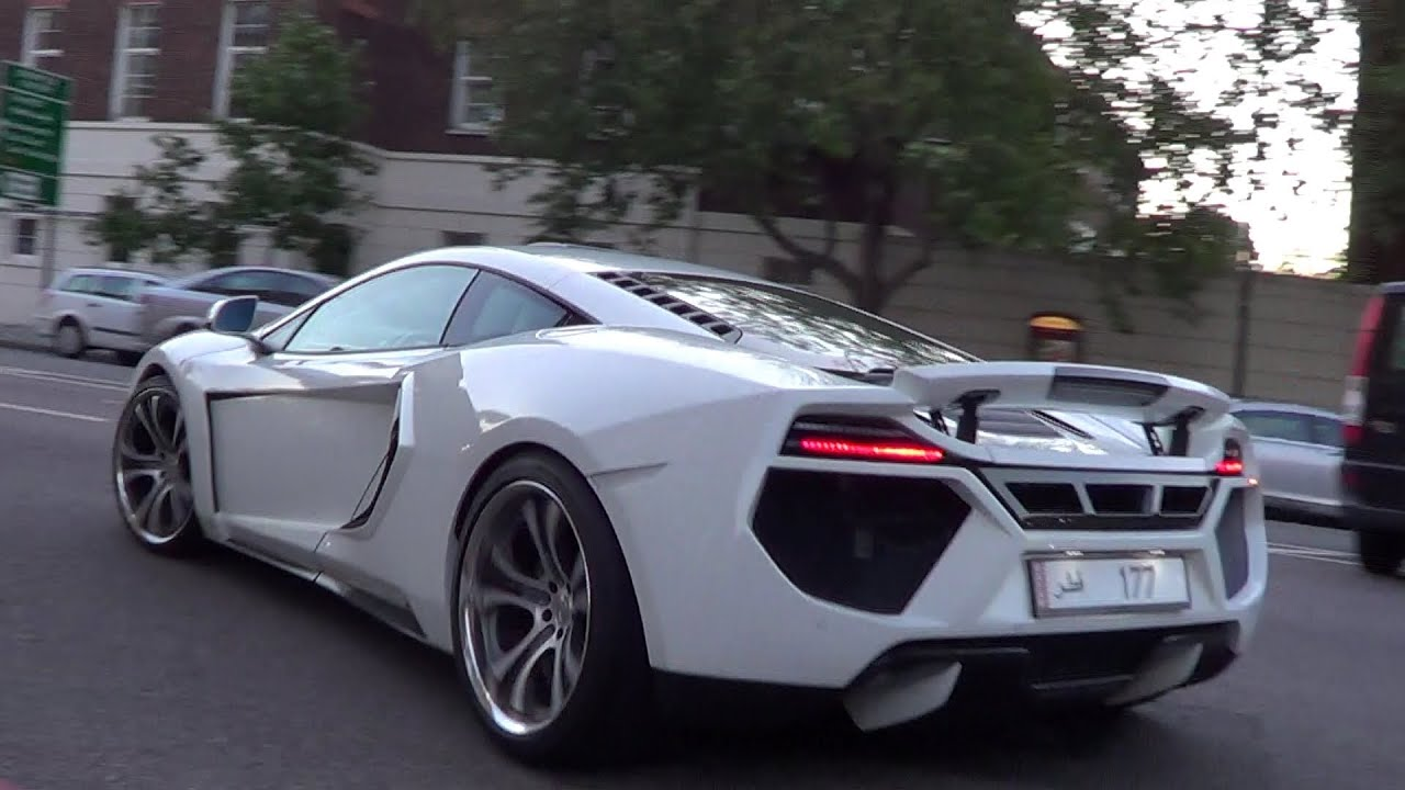 Arab Supercar Highlights In London Summer Youtube