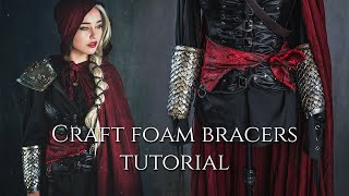 Craft Foam Bracers - Cosplay Tutorial