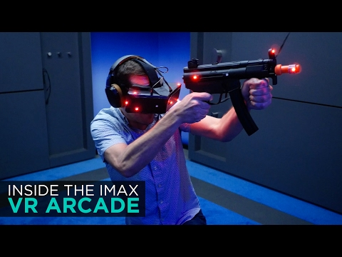 Inside the IMAX VR Center - Los Angeles