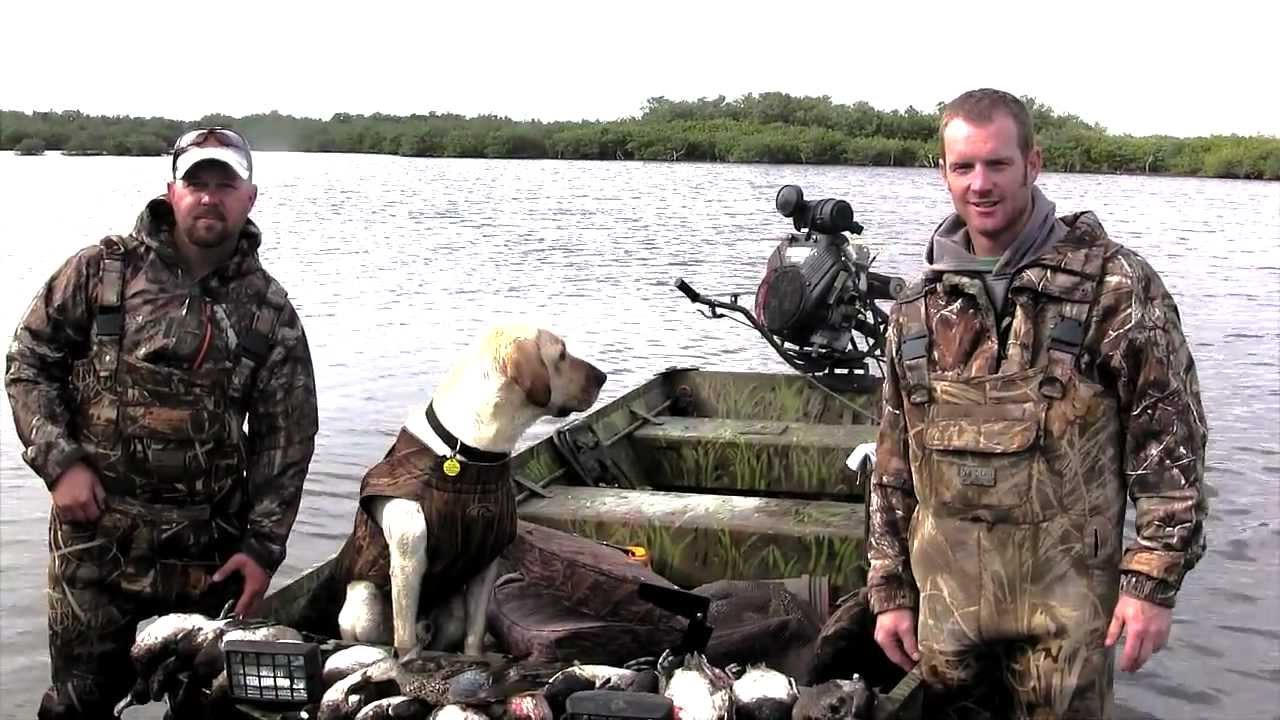 Florida duck hunting youtube for Out of state fishing license florida