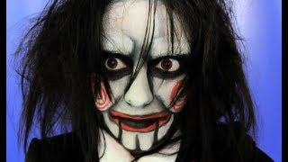 Jigsaw Billy The Doll Halloween Makeup Tutorial 2015
