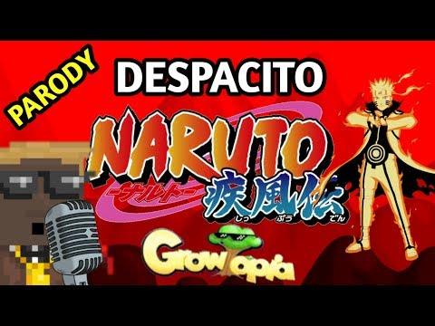 DESPACITO VERSI NARUTO - GROWTOPIA PARODY