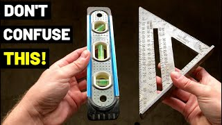 PLUMB VS. LEVEL VS. SQUARE...What's The Difference?! When And How To Use These Three Terms