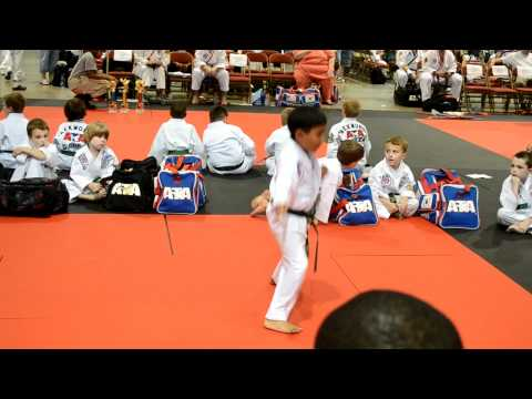 Pratyut Taekwondo In Wha 2 First Place