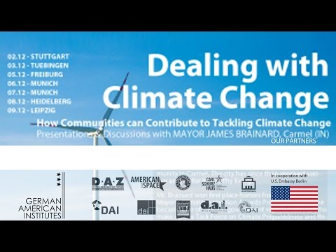 """""""Dealing with Climate Change"""" - How communities can contribute to tackling climate change"""