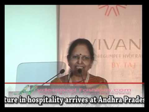 Vivanta by Taj Hotels and Resorts Speech at Begumpet