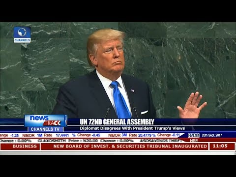 UN General Assembly: Diplomat Disagrees With President Trump's Views