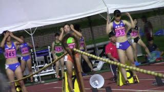 福田真衣 江口琴美 / 2017トワイライト・ゲームス女子100mB決勝