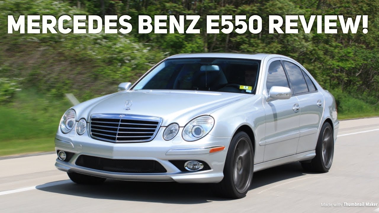 Mercedes Benz E550 Review