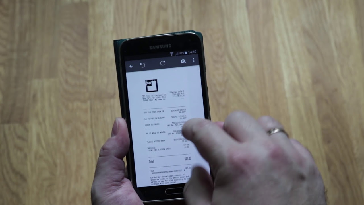 SharpScan: Scan any document into PDF on Android