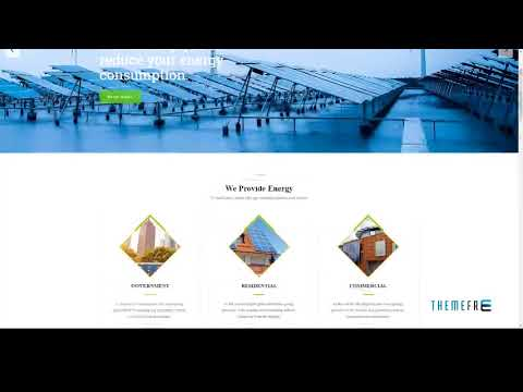 Green Energy - For Renewable Energy Company HTML Template        Rayn
