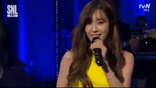160529 [HD/Viewable] SNSD-TIFFANY (티파니) - I Just Wanna Dance+TALK @ SNL KOREA 7