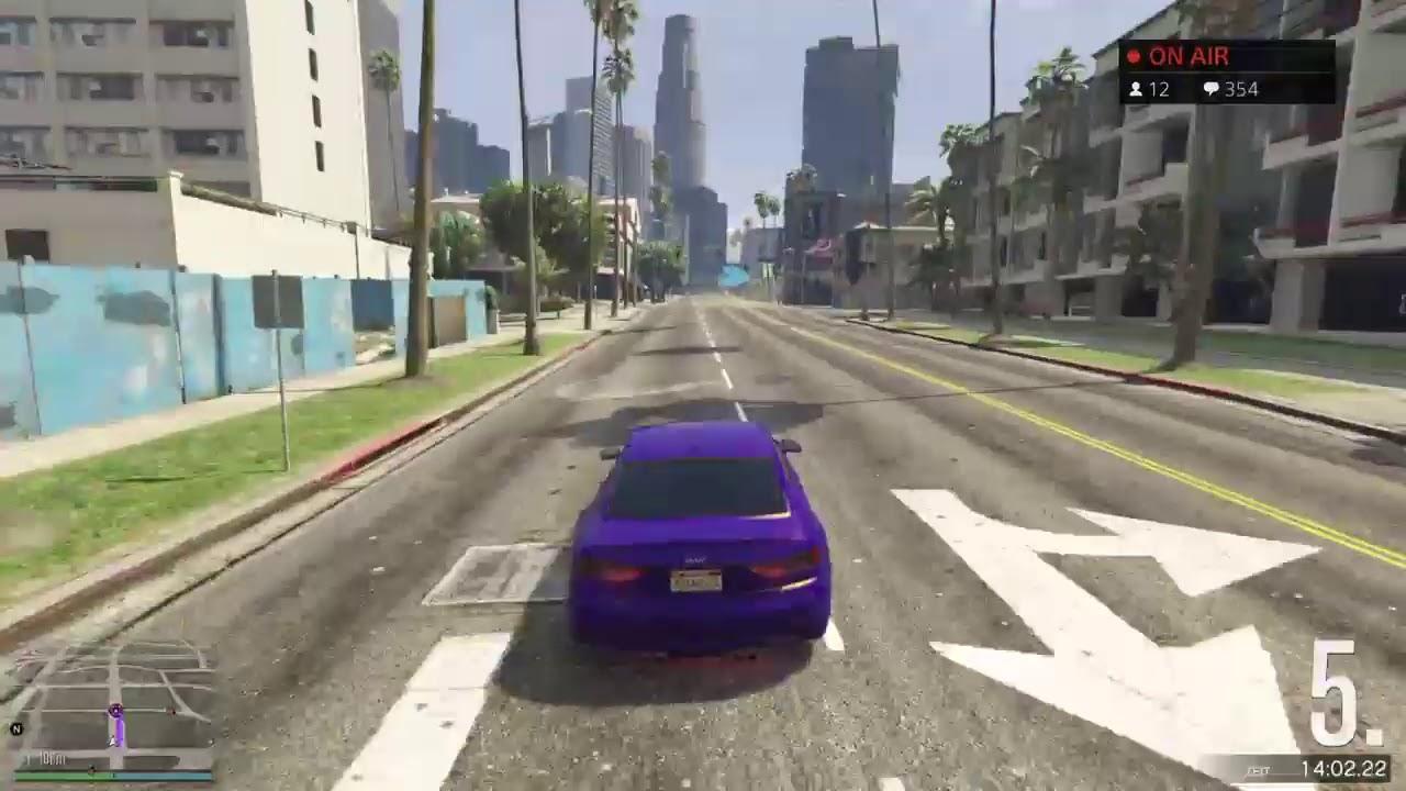 GTA ONLINE   TUNING TREFFEN    CREW SITZUNG    LIVE   PS4